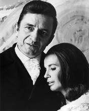This is an image of 193509 Johnny Cash and June Photograph & Poster