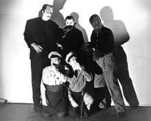 This is an image of 193973 Abbott and Costello Meet Frankenstein Photograph & Poster