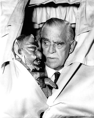 This is an image of 193418 Boris Karloff Photograph & Poster