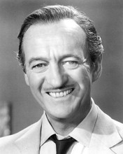 This is an image of 193233 David Niven Photograph & Poster