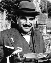 This is an image of 193394 David Suchet Photograph & Poster