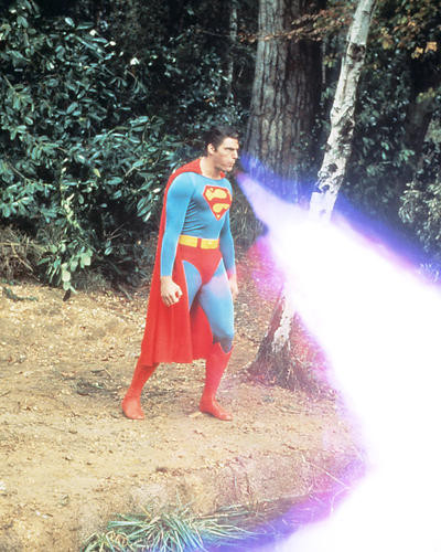 This is an image of 283186 Superman Photograph & Poster