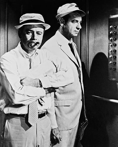 This is an image of 171034 Jack Lemmon & Walter Matthau Photograph & Poster