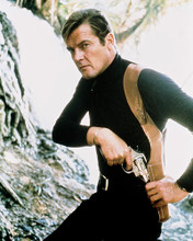 This is an image of 217312 Roger Moore Photograph & Poster