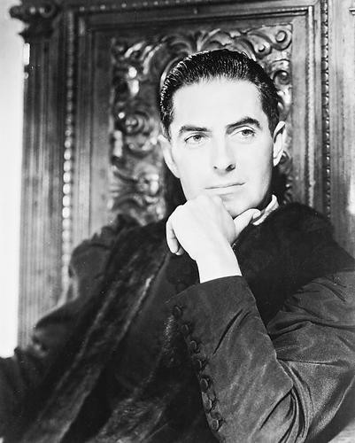This is an image of 167914 Tyrone Power Photograph & Poster