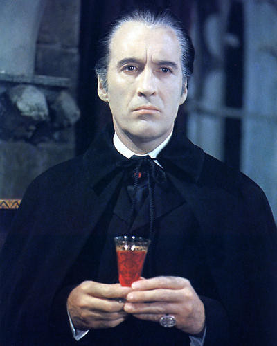 This is an image of 232987 Christopher Lee Photograph & Poster