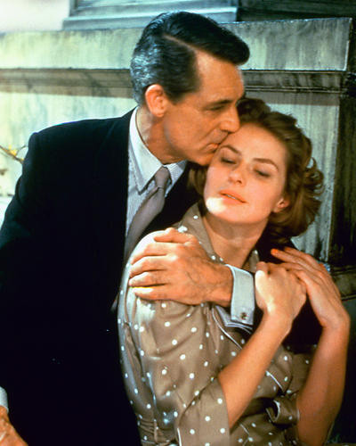 This is an image of 226630 Cary Grant & Ingrid Bergman Photograph & Poster