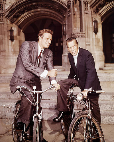 This is an image of 283927 Charlton Heston Photograph & Poster