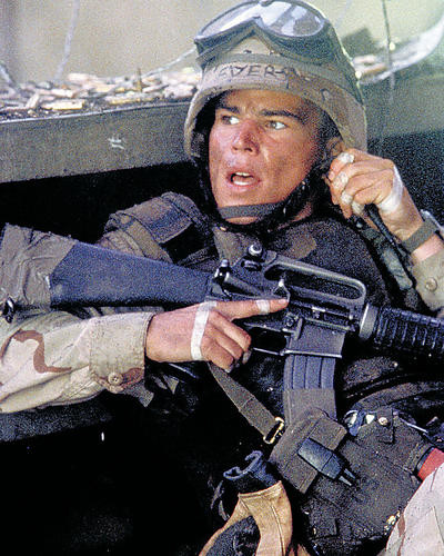 This is an image of 284024 Black Hawk Down Photograph & Poster