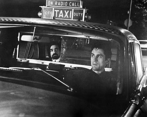 This is an image of 194465 Taxi Driver Photograph & Poster