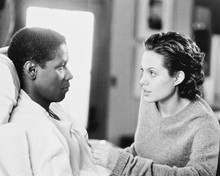 This is an image of 169718 Angelina Jolie & Denzel Washington Photograph & Poster