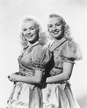 This is an image of 171216 Betty Grable and June Haver Photograph & Poster