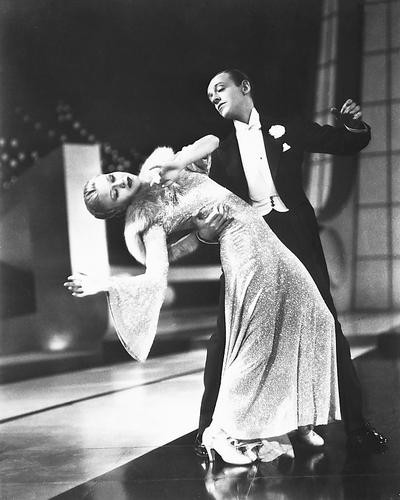 This is an image of 172955 Fred Astaire & Ginger Rogers Photograph & Poster