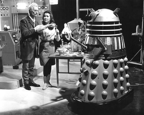 This is an image of 190675 Dr Who and the Daleks Photograph & Poster