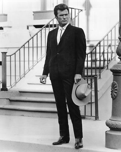 This is an image of 191384 Clint Eastwood Photograph & Poster