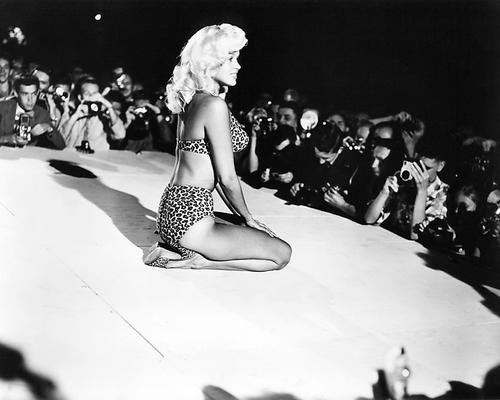 This is an image of 193403 Jayne Mansfield Photograph & Poster