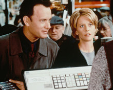This is an image of 235047 Tom Hanks & Meg Ryan Photograph & Poster