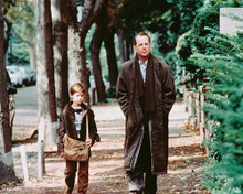 This is an image of 239012 Bruce Willis & Haley Joel Osment Photograph & Poster