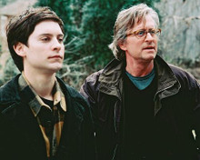 This is an image of 241235 Michael Douglas & Tobey Maguire Photograph & Poster