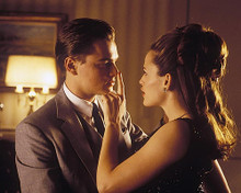 This is an image of 254010 Leonardo Di Caprio & Jennifer Garner Photograph & Poster
