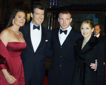 This is an image of 255055 Pierce Brosnan & Madonna Photograph & Poster