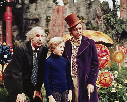 This is an image of 262489 Willy Wonka Photograph & Poster