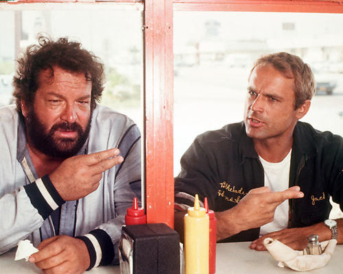 This is an image of 267127 Bud Spencer Photograph & Poster