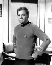 This is an image of 276380 William Shatner Photograph & Poster