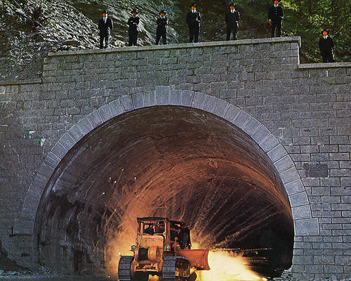 This is an image of 282441 The Italian Job Photograph & Poster