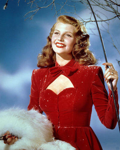 This is an image of 282768 Rita Hayworth Photograph & Poster