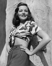 This is an image of Prints & Posters of Gene Tierney 104756