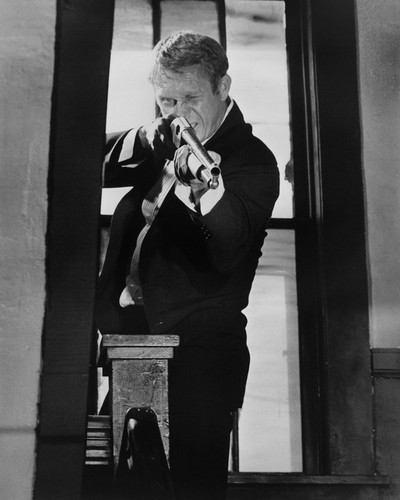 This is an image of Prints & Posters of Steve McQueen 104574
