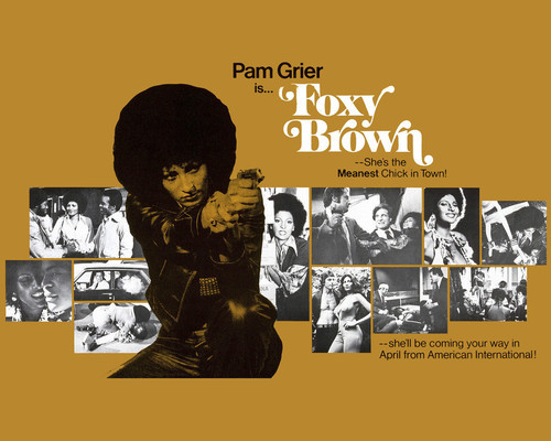 This is an image of Prints & Posters of Foxy Brown 202532