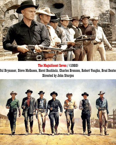 This is an image of Prints & Posters of Magnificent Seven 202553