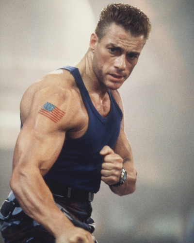 This is an image of Prints & Posters of Jean-Claude Van Damme 202797