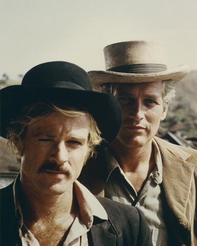 BUTCH CASSIDY AND THE SUNDANCE KID 24X30 Poste rPaul Newman and Robert Redford