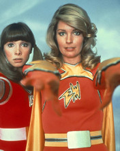 This is an image of Prints & Posters of Elektra Woman and Dyna Girl 202815