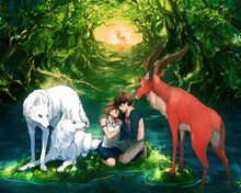 This is an image of Prints & Posters of Princess Mononoke 202641