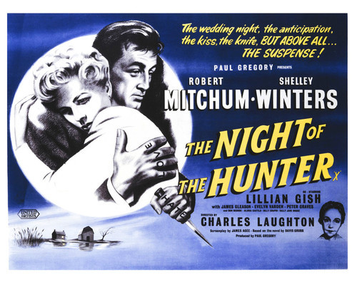 Image result for NIGHT OF THE HUNTER POSTER