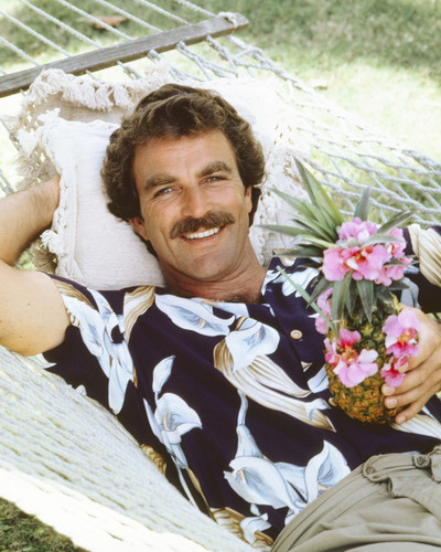 This is an image of Prints & Posters of Tom Selleck 202816