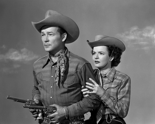 This is an image of Prints & Posters of Roy Rogers and Dale Evans 105207
