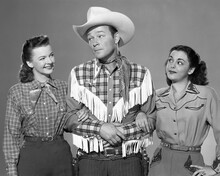 This is an image of Prints & Posters of Roy Rogers and Dale Evans 105341