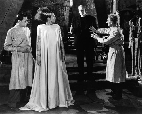 This is an image of Prints & Posters of Bride of Frankenstein 105523