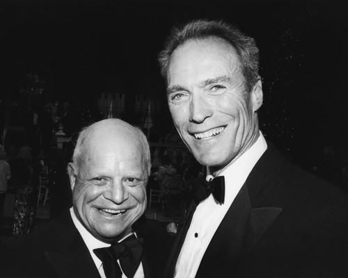 This is an image of Prints & Posters of Clint Eastwood and Don Rickles 104988
