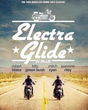 This is an image of Prints & Posters of Electra Glide in Blue 202882