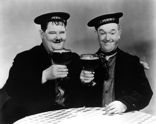 This is an image of Prints & Posters of Laurel and Hardy 105940