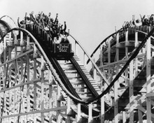 This is an image of Prints & Posters of Rollercoaster 105922