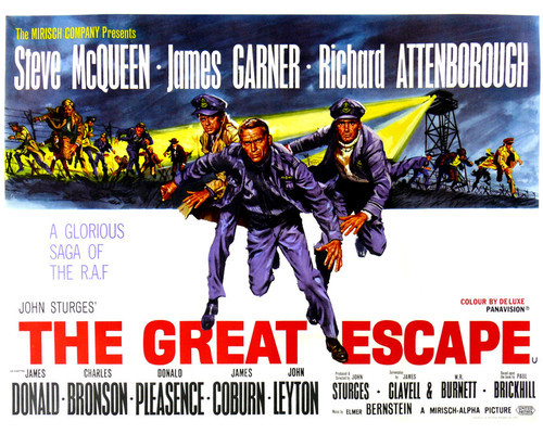 This is an image of Prints & Posters of The Great Escape 203172