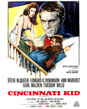 This is an image of Prints & Posters of The Cincinatti Kid 203142