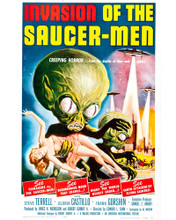 This is an image of Prints & Posters of Invasion of the Saucer-Men 203184